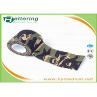 China Military Tactical Flexible Cohesive Elastic Bandage Adhesive Tape Stretchable on sale