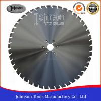 Quality Slant U Slot Type Diamond Cutting Disc For Concrete Wall Saw 4.8/5mm Segment Thickness for sale