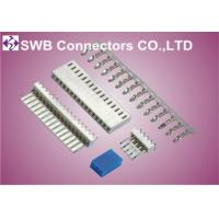 Buy cheap One Row 2.54mm Pitch Connectors Tin Plated Contact 2510 Series product