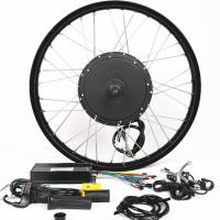 Quality 1500W 26 Inch Electric Bike Conversion Kit Front Wheel Entry Level Enough Power for sale