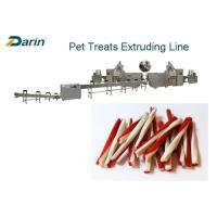Buy cheap Beef Natural Sticks Dog Food Making Machine Dental Treats Product Single Screw from wholesalers