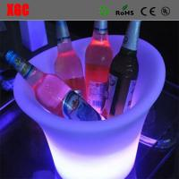 Buy cheap Fashion Design Club LED Plastic Colorful Ice Bucket from wholesalers