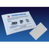 Buy cheap Consumables Currency Counter Cleaning Cards CR80 With ISO9001 Certification from wholesalers