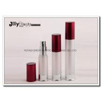 Quality Capacity 20ml Airless Pump Bottles , Plastic Cosmetic Packaging Bottles for sale
