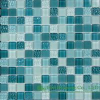 Quality Acid-proof And Alkali-Proof Crystal  Mosaic Tile Factory, For Indoor and Outdoor Walls for sale