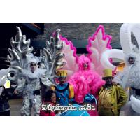 Silvery Inflatable Angel Wings Costumes for Event and Advertisement