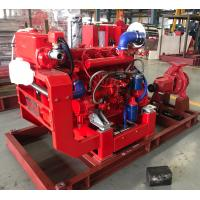 Buy cheap UL / FM non-listed Split Case Pump Capacity 750 m3/h @ 105m Diesel Engine from wholesalers