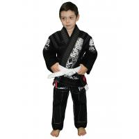 Quality Eco friendly Ripstop BJJ GI kimonos jiu jitsu Black Martial Arts Gi in Black for sale