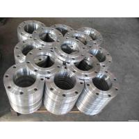 Quality ASME B16.5 2205 2507 Welding Neck Stainless Steel Pipe Flange Dulplex Steel S32750 S31803 for sale