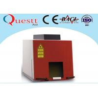Buy cheap CE Jewellery Laser Marking Machine 20 Watt For Gold Silver , Sealed Working Table product