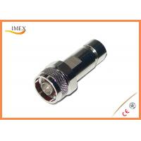 "Buy cheap 50ohm Straight Clamp N Type RF Connector for 1/4"" Superflex Corrugated Cable product"