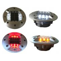 China Multi color aluminum solar road stud with super bright led light for roadway safety on sale