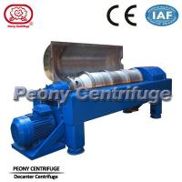 Quality Drilling Mud Decanter Centrifuge / Industrial Horizontal Centrifuge for sale