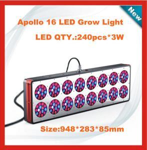 Quality 560W(240x3w) Apollo 16 Led grow light/Apollo 16 indoor plant Led grow light for sale