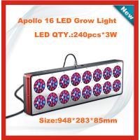 Quality CIDLY 16 hidroponia led grow lights 600watt for dwc hydroponic system for sale
