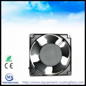 Quality AC110V 120V 220V 240V 380V Equipment Cooling Fans 4.7 Inch metal industry exhaust fan for sale