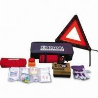 Quality Car Emergency Kit, Especially for Car Sales Promotion, Includes Bag for Air Compressor for sale