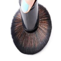 Quality Black Color Telescopic Blush Brush , Setting Powder Brush Shading And Highlighting for sale