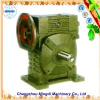 Quality Cast Iron Worm Parallel Shaft Gearbox Reduction Gear For Excavator for sale