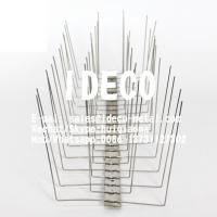 Quality Stainless Steel Anti-Bird Spikes, Pigeon Spikes, Pigeon Deterrent Repeller, Bird Control Defender for Roofs for sale