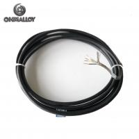 Quality 4 Wires Silicone Rubber RTD PT100 Thermocouple Sensor  Armored Cable For Temperature Detector for sale