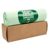 Quality OEM Biodegradable Compost Bags On Roll Supermarket Food Waste Caddy Liner for sale