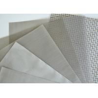 China Woven Stainless Steel Wire Cloth , Stainless Steel Mesh Customized Length on sale