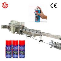 Buy cheap Automatic Engine Cleaner Aerosol Spray Filling Machine with Pneumatic Drive product