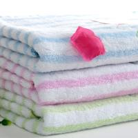 solide color bath towel baby towel
