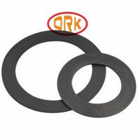 Custom Flat Ring Gasket Industrial For Vibration Dampening / Packaging