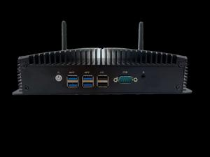 Quality 6 USB Port I5-4200U Fanless Industrial Mini Computer Gigabit LAN for sale