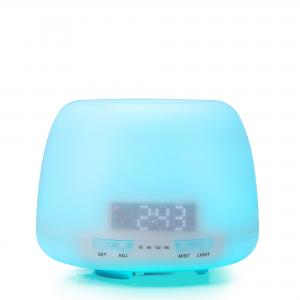 China Home Alarm Clock Essential Oil Diffuser With 7 Color LED Light on sale