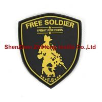 Quality OEM silicone badge rubber badge soft pvc badge for sale