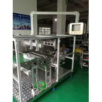Quality Powerful Non Woven Mask Making Machine Taiwan Delta PLC System , Folding Rate Very Low for sale