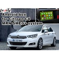 Quality Citroen C4 C5 C3 - XR SMEG+ MRN SYSTEM Car Navigation box mirrorlink video play for sale
