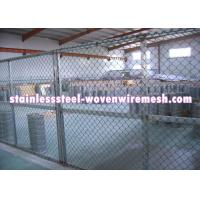 "Quality FLAT / CRIMPED Gray Inconel Knitted Metal Mesh Plain Weave Wire Diameter 0.008 - 0.011 "" for sale"