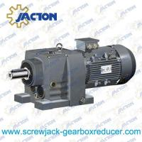 China 1.5HP 1.1KW R RX Series foot mounted solid shaft gear box speed reducer Specifications on sale