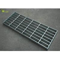 Quality Industrial Galvanized Mesh Grating Plain Serrated Bar Grid Step Treads Plate for sale