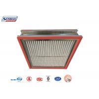 Quality High Temperature Resistance Thermostability High Temp Hepa Filter for Pharmaceutical for sale