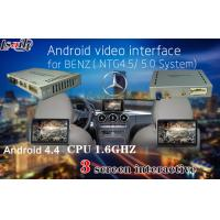 Quality Touch Control Android Auto Interface for Benz C / E / A / B/ML / GLK , Support 3 Screens display synchronously for sale