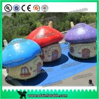 Quality Oxford Cloth Giant Inflatable Mushroom Advertising Inflatables For Event Party Decoration for sale