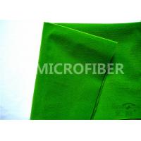 Quality 100 Polyester Adhesive Green  Loop Fabric For  Tape , OEM Available for sale