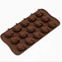 Quality Animal Plastic Silicone Chocolate Molds Tool Heat Resistant Professional for sale