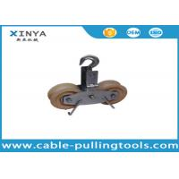 China Overhead Line Stringing Equipment Tandem Sheaves Conductor Runing Out Blocks on sale