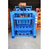 Quality Semi - Auto Cement Block Paver Making Machine To Make Cement Pavers , Bricks for sale