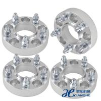 Quality 6061-T6 Aluminum 6x5.5 Custom Wheel Adapters 14x1.5 Studs ,Thickness 10mm / 12mm for sale