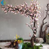 Pink Fake Magnolia Tree , Faux Magnolia Branches Customized Design for sale