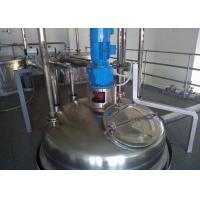 Quality High Capacity Liquid Detergent Manufacturing Machines With Filling Machine for sale