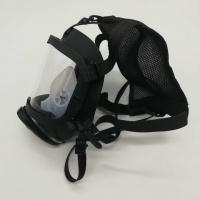 Quality Respirator Full Face Mask For Breathing Apparatus Sillcone PC Lens For Fire Fighting for sale