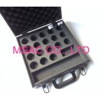 Quality Black Aluminum Cue Case MS-Sp-03 Snooker Ball Case Fireproof With Foam for sale